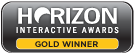 Horizon Interactive Awards gold winner 2015