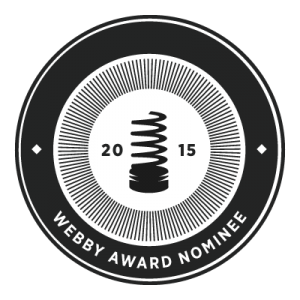 Webby Award nominee 2015